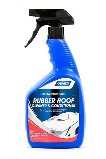 Camco 41063 Pro Strength Rubber Roof Cleaner   32 Fl. Oz.
