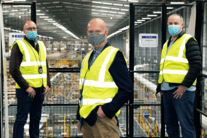 Steve and the BCC at Amazon