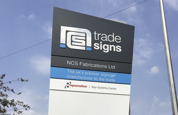 NCS Trade Signs Singage