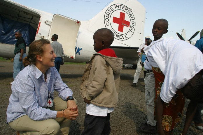 """""""Family reunification, DR Congo"""" by ICRC is licensed under CC BY-SA 2.0"""