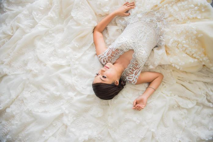 Kat Padilla might be relatively new but her style has already been noted for its polished sophistication, like this bridal gown featured above. Photo furnished to DNX by Kat Padilla.
