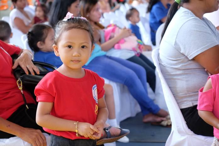 A young child caught the DNX lens during the program that affirms the rights of children and youth. | Photo by Jose Aaron C. Abinosa