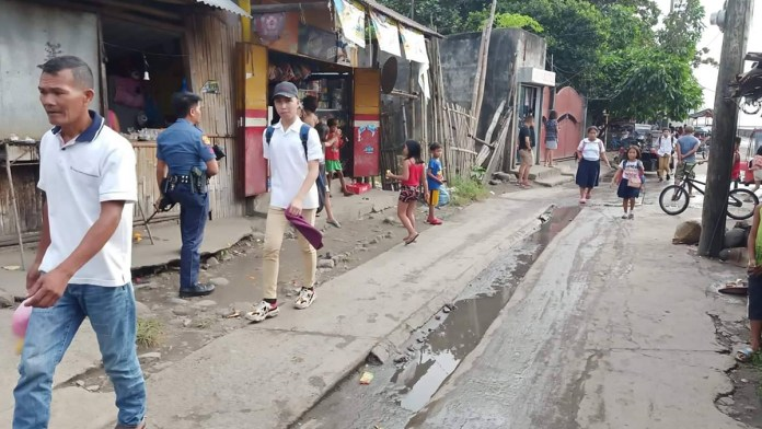 The area in Banago village where Eslopor was stabbed. | Photo courtesy of BCPO