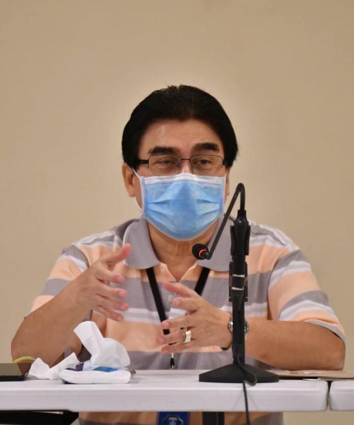 Mayor Evelio R. Leonardia. | Photo from Bacolod city PIO fb page.
