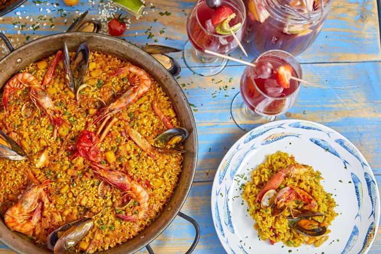 do project, Paella El Chiringuito restaurant and cocktail bar