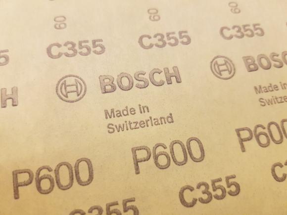 Schmirgelpapier P600