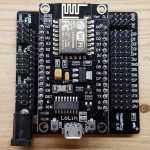 NodeMCU in Breakout Board