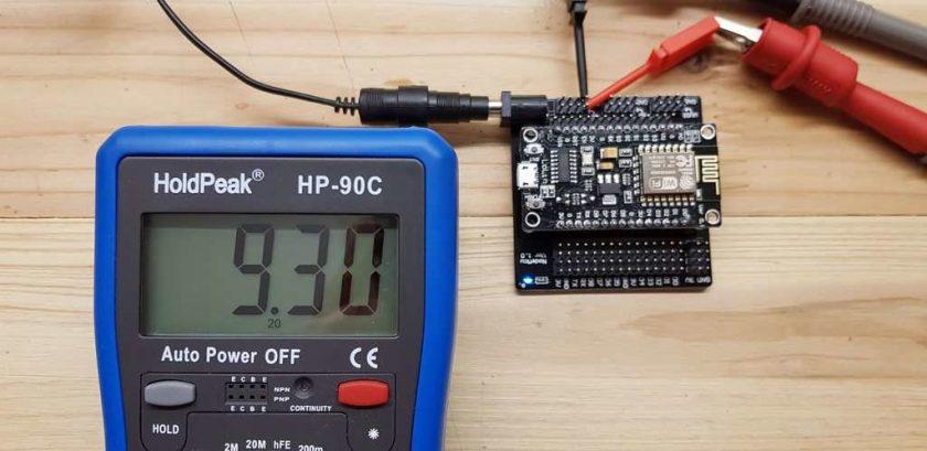 Breakout Board 1zu1 Voltage des externen Netzteils