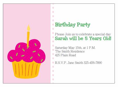 printable cupcake birthday invitations