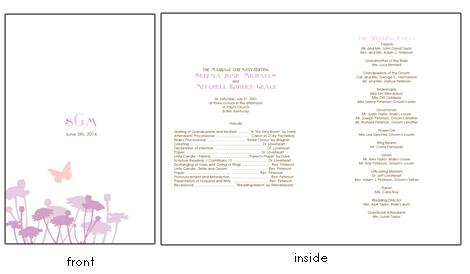 Pport Wedding Invitation Template