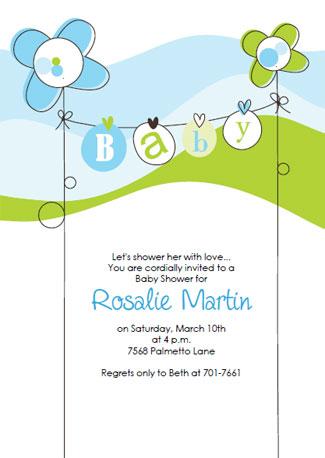 Free Baby Shower Invitation Templates