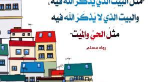 الأسرة المسلمة - مثل الحيت والميت