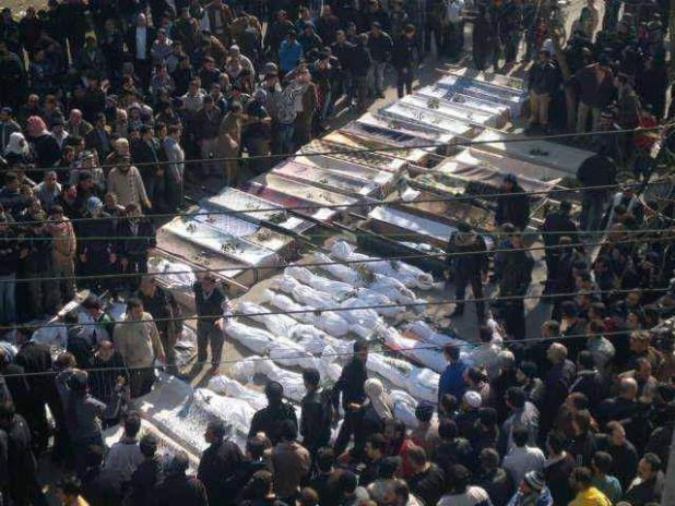 شباط - مجزرة الخالدية 4 شباط 2012