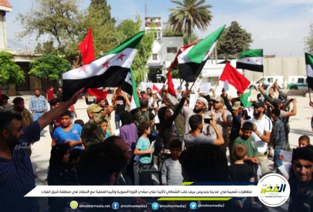 الثورة السورية - نؤيد نبع السلام