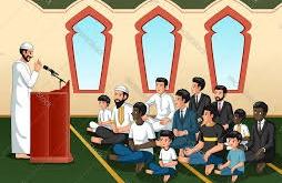 المجتمع المسلم - الشيخ والناس