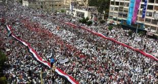 الثورة السورية - مظاهرات حماة 2011