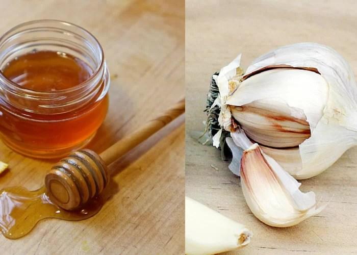 Imagini pentru usturoi cu miere