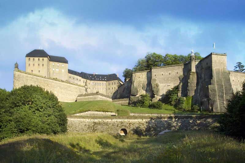 Local destination Knigstein Fortress in Knigstein
