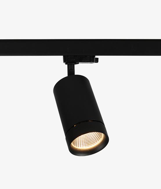 commercial led track lighting cob 30w ac track spotlightings