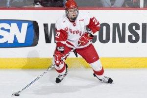 Cody Goulobef - photo courtesy of thehockeynews.com
