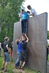 Teamübung Wall