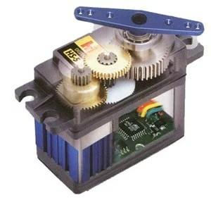 servo-motor. artigo: Servo motor de rotação contínua