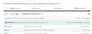 Seleção do Firmware | firmware nodeMCU