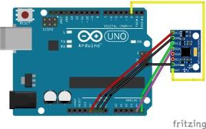 wiring Giroscópio MPU6050