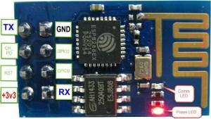 CD4050 com ESP8266