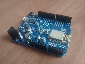 MicroPython para ESP8266 (Wemos D1)