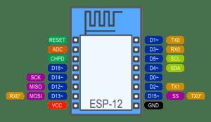 esp12   programar esp8266