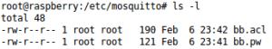 Permissões dos arquivos criados   atualização OTA por MQTT