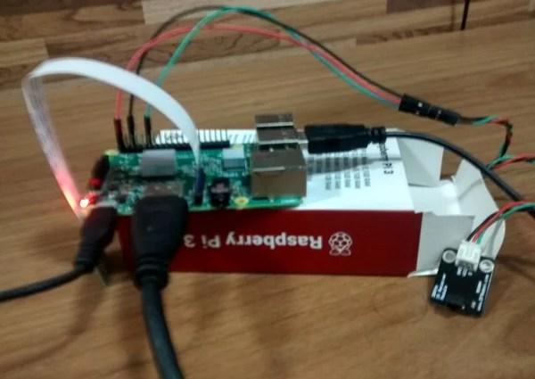 RPi3 com infra-vermelho | infra-vermelho