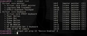 como trocar o logo do kernel - xinput-touchpad