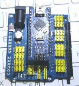 Arduino Nano com shield
