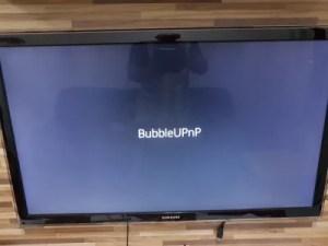 BubbleUPnP abrindo no Chromecast