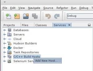 Configurando host remoto
