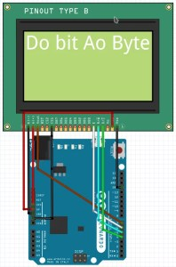display 128x64 com Arduino | wiring