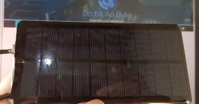 mini painel solar