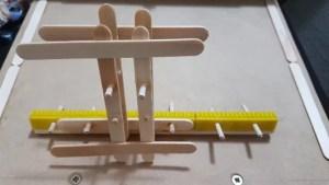 Suporte com cremalheira - impressora com Arduino