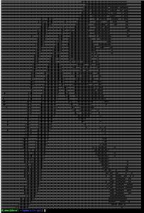 Mapa binário - impressora com Arduino