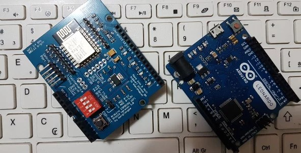 shield wifi com esp8266