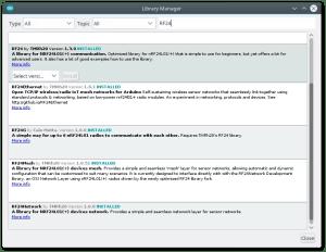libraries - mesh com Arduino e Raspberry