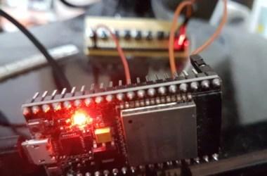Configurar a UART do ESP32