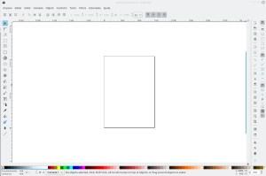 como fazer engrenagens no Inkscape - janela principal