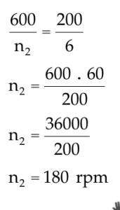 como fazer engrenagens - cálculo de rpm