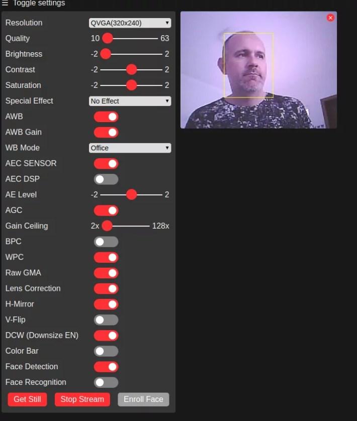 Face detection e face recognition com ESP32-CAM • Do bit Ao Byte