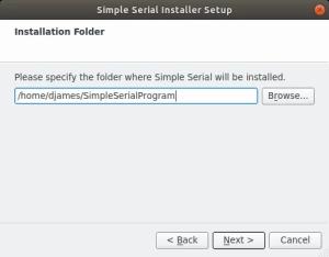 Como criar instalador - seleção de diretório