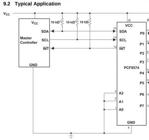 PCF8574 e display de 7 segmentos