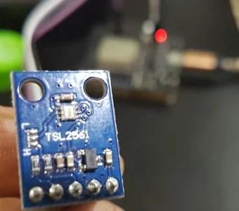 sensor de luminosidade TSL2561